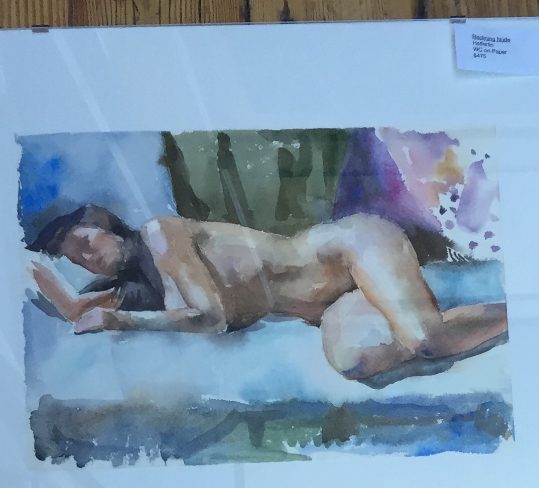 Reclining Nude by  Melissa Hefferlin - Masterpiece Online