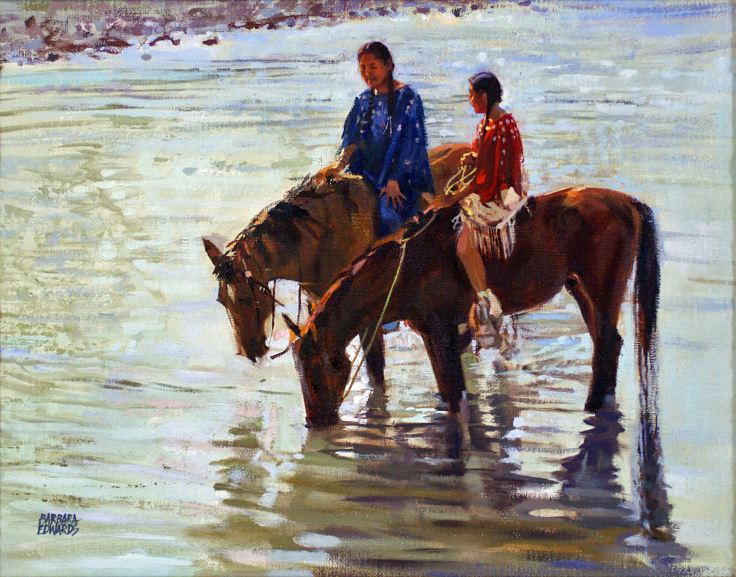 Calm Water by  Barbara Summers Edwards - Masterpiece Online