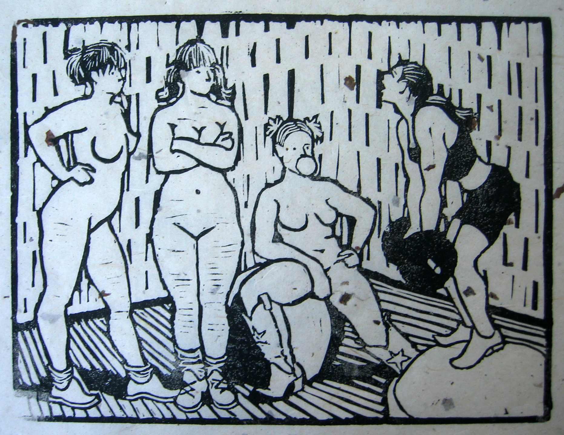 The Nymphs Consider W... by  Melissa Hefferlin - Masterpiece Online