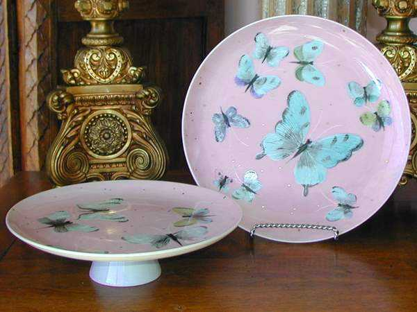 Set of Butterfly Plat... by  American  - Masterpiece Online