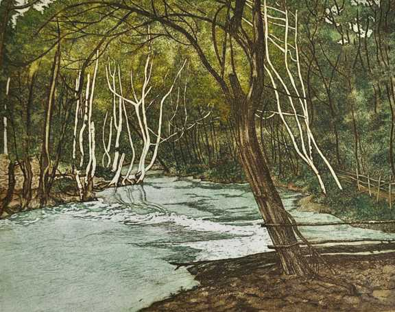 The White River by  Susan Baehmann - Masterpiece Online
