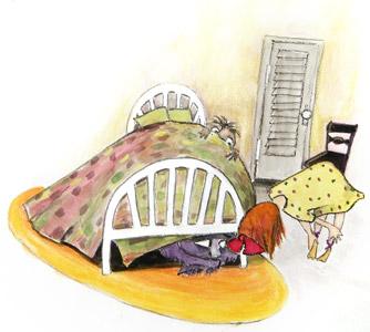 Monster Under Bed by  Barbara Bottner - Masterpiece Online
