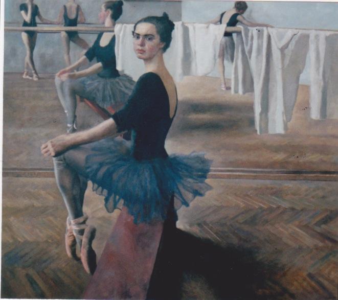 Ballerina by  Daud Akhriev - Masterpiece Online