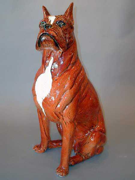 Terracotta Boxer by  Italian  - Masterpiece Online