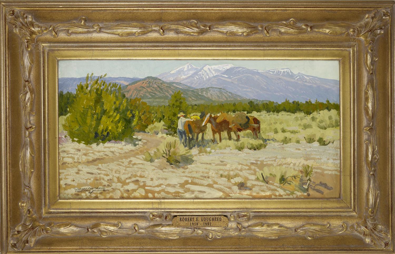 Arizona Cowboy by  Robert Lougheed - Masterpiece Online