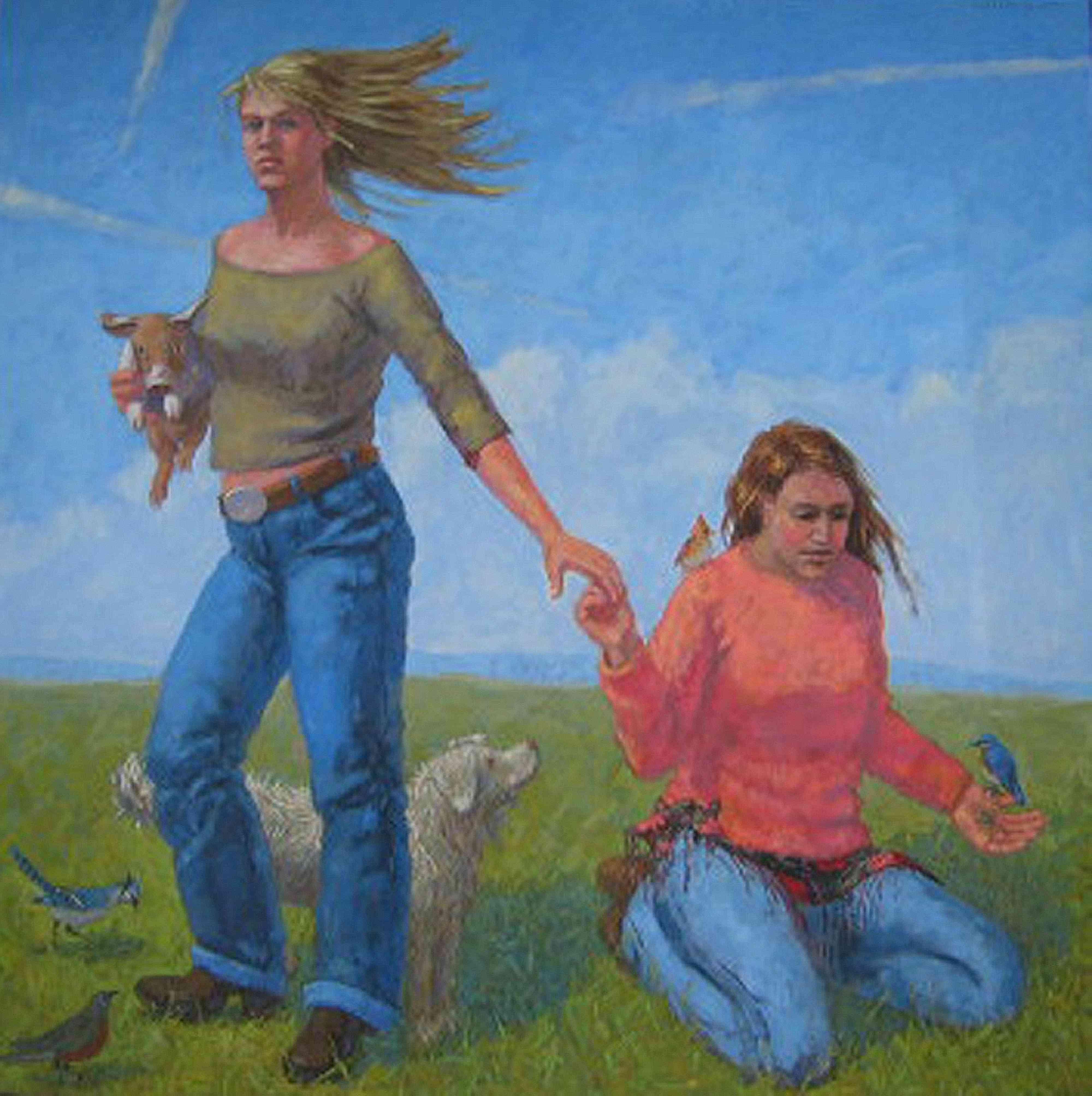Sisters by  Melissa Hefferlin - Masterpiece Online