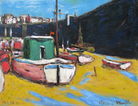 Low Tide - Cornwall by  Andres  Morillo - Masterpiece Online