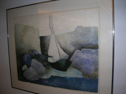 Sailboat by  Alain Claude Pierre Gaveau - Masterpiece Online