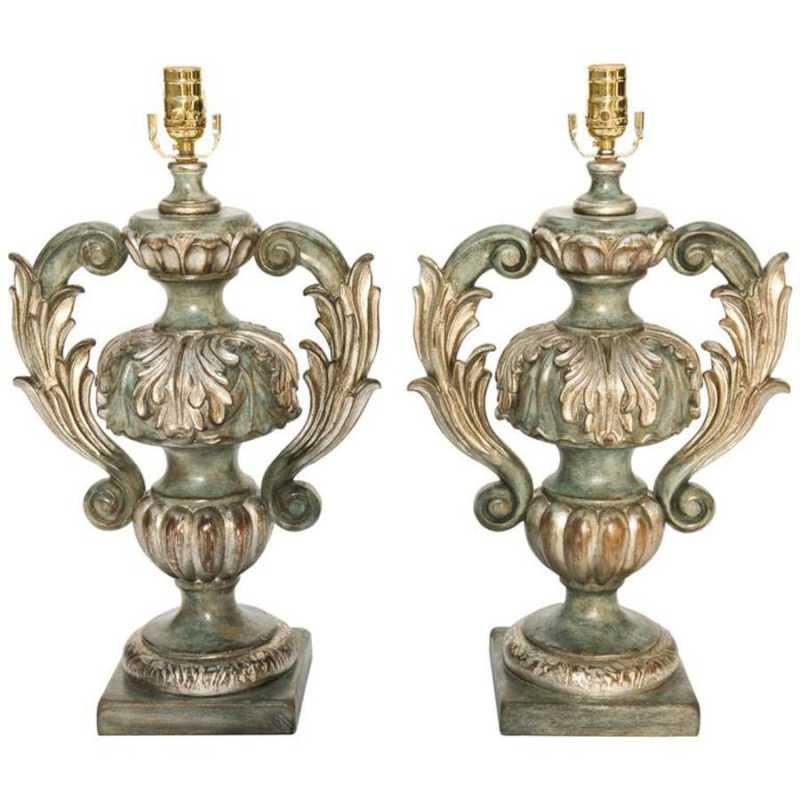 Pair of Carved Wood U... by  Italian  - Masterpiece Online