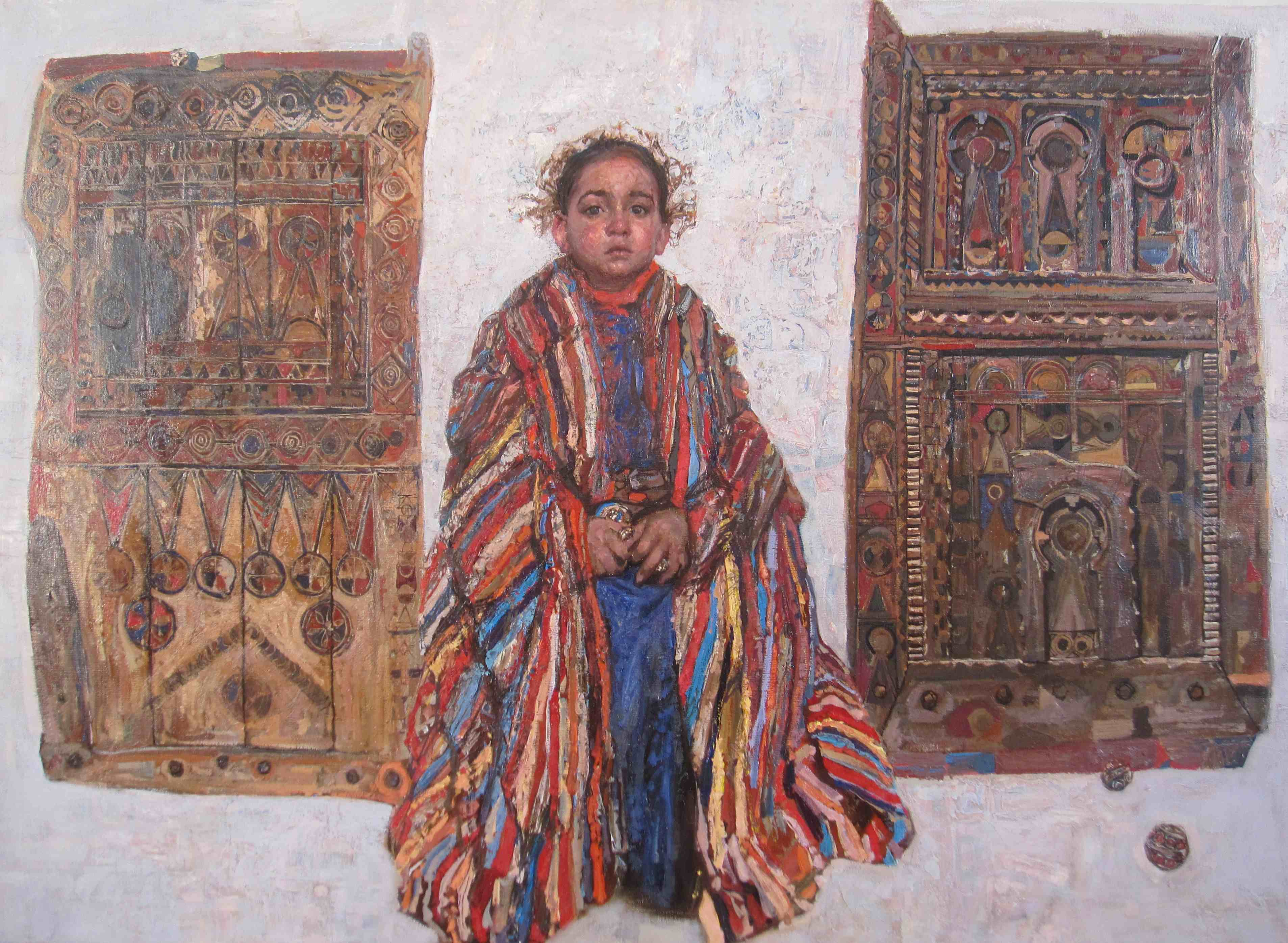 Mariam by  Daud Akhriev - Masterpiece Online
