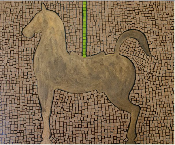 The Golden Horse by Mr. Carlos Sanchez Vegas - Masterpiece Online