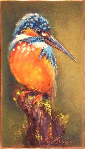 Peaceful Kingfisher by  Amanda Houston - Masterpiece Online