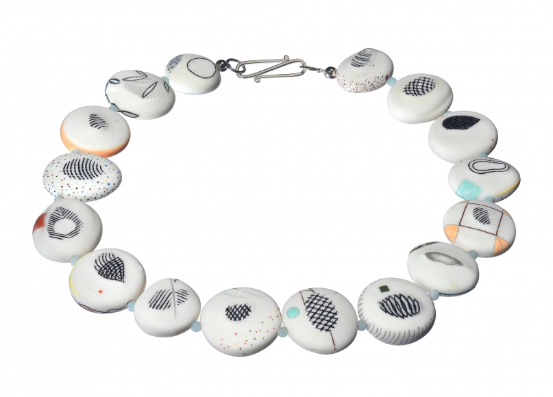 Necklace 24  by  Karen Thuessen Massaro