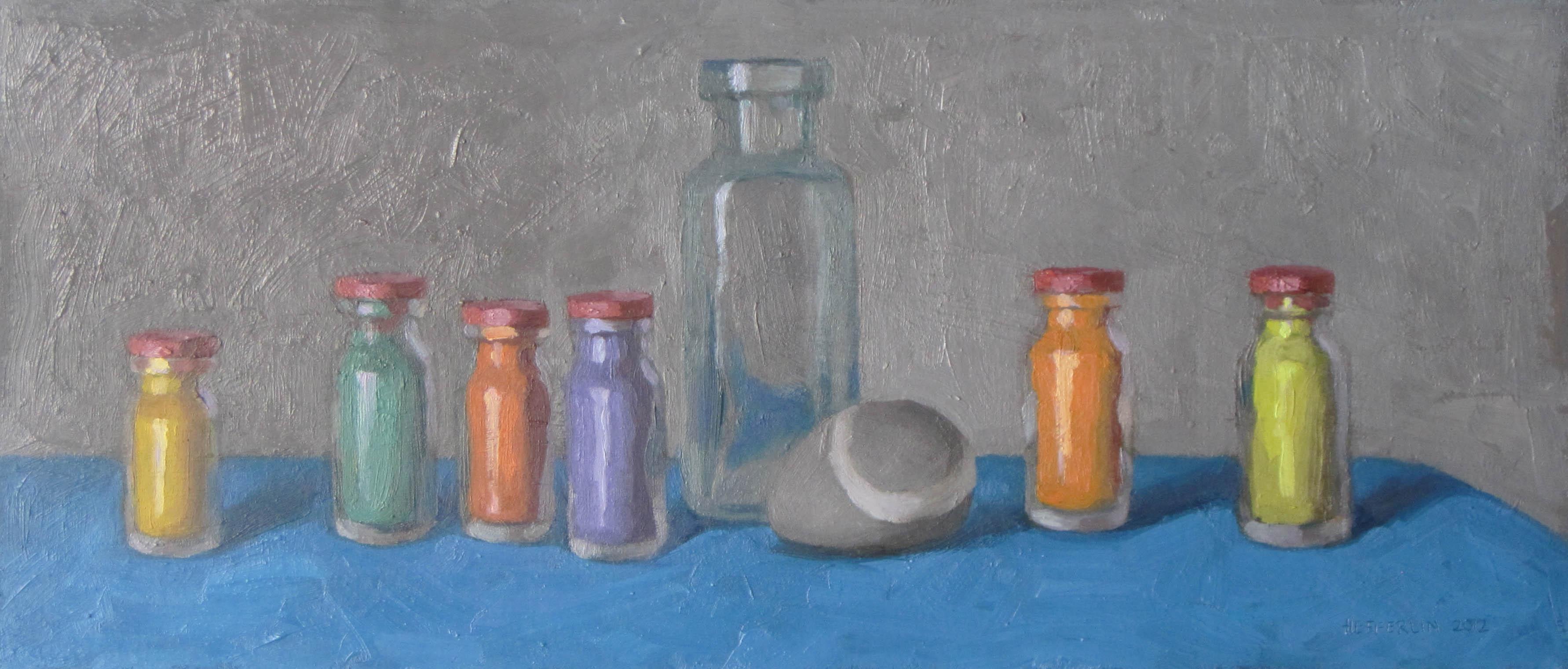 Seven Bottles and a S... by  Melissa Hefferlin - Masterpiece Online