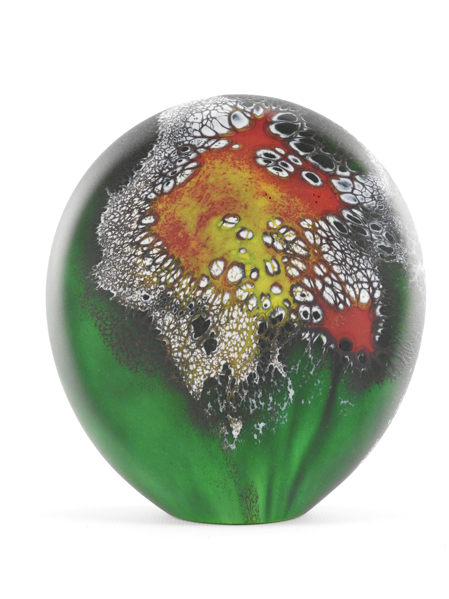 Paperweight/New Green... by  David Royce - Masterpiece Online
