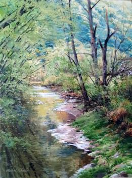 Greening Up by  Michael Wheeler - Masterpiece Online