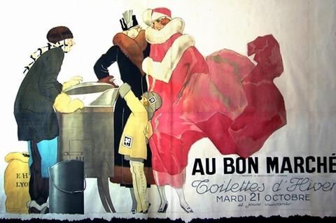 Au bon marche by  Rene Vincent - Masterpiece Online