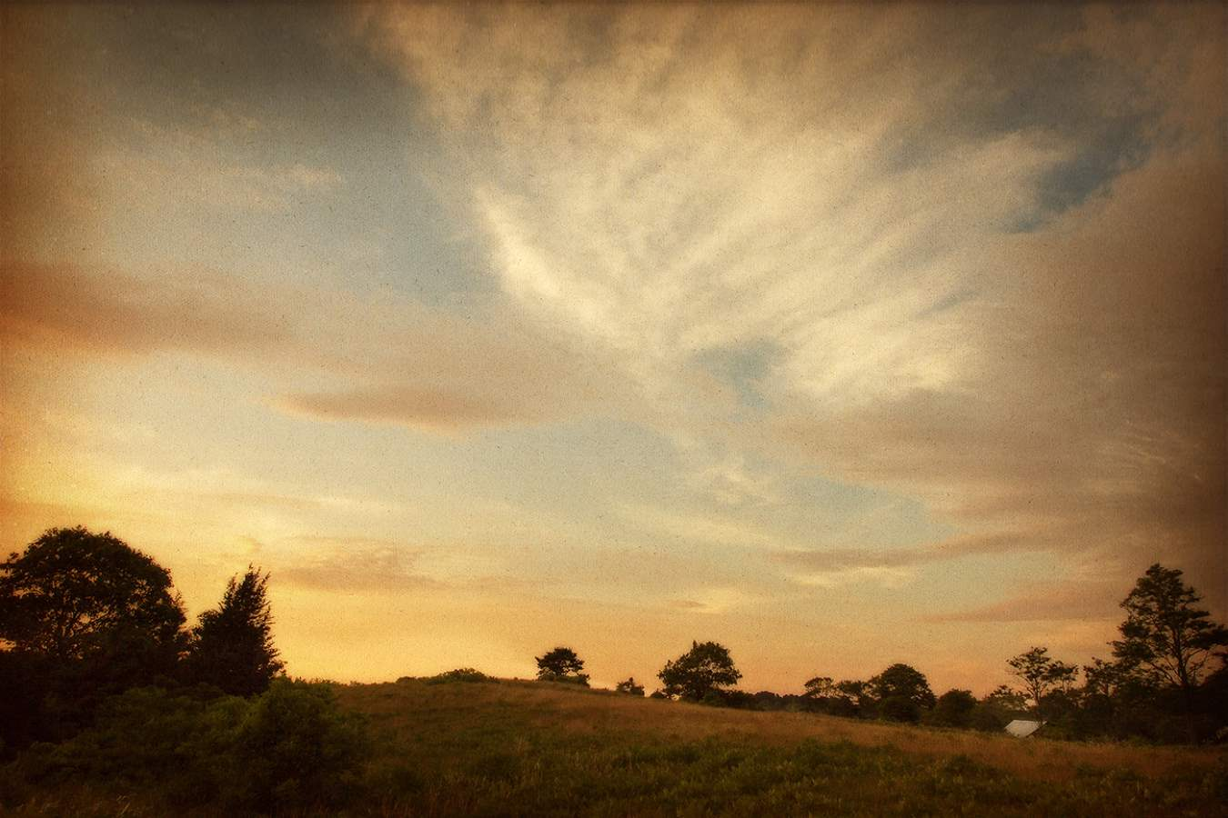 Sunset Barn, Tea Lane... by  Michael Stimola - Masterpiece Online