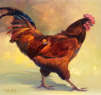 Mr. Cocky  by  Carolyne Hawley