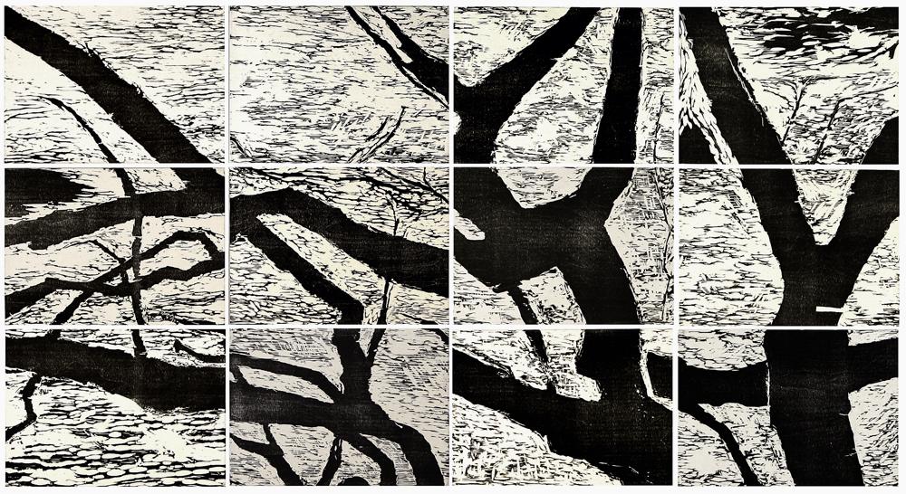 Wild Olive Fragment #...  by  Angela Hayson