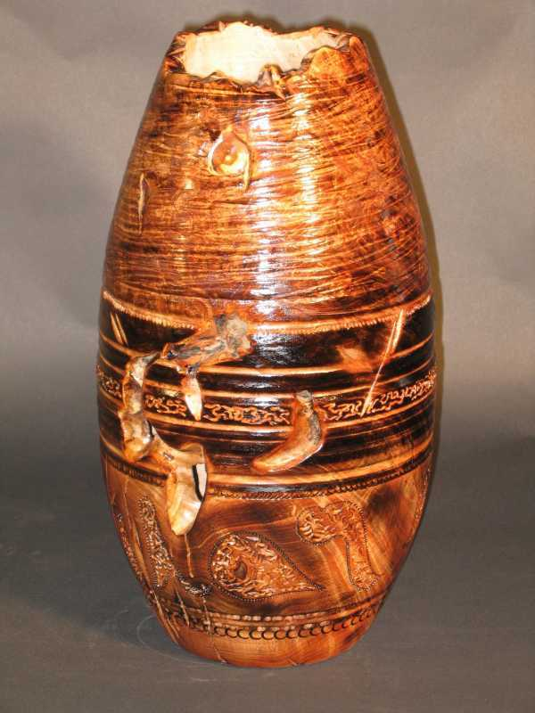Sculpted Vase E2249 by  Dennis Elliott - Masterpiece Online