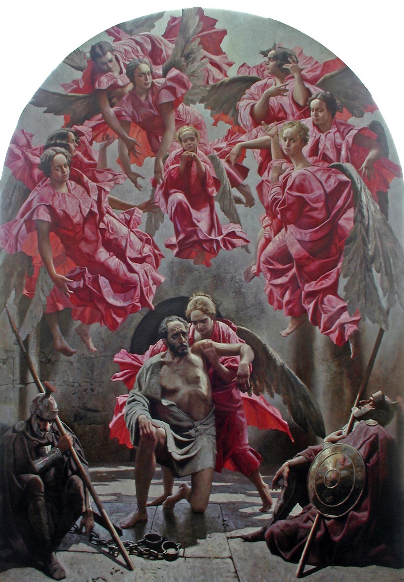 Peter Released from P... by  Daud Akhriev - Masterpiece Online