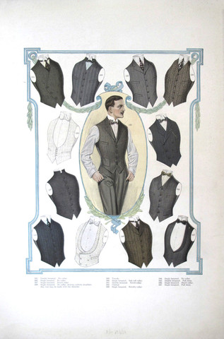 1916/1917 Men's Fashi... by  Anonymous  - Masterpiece Online
