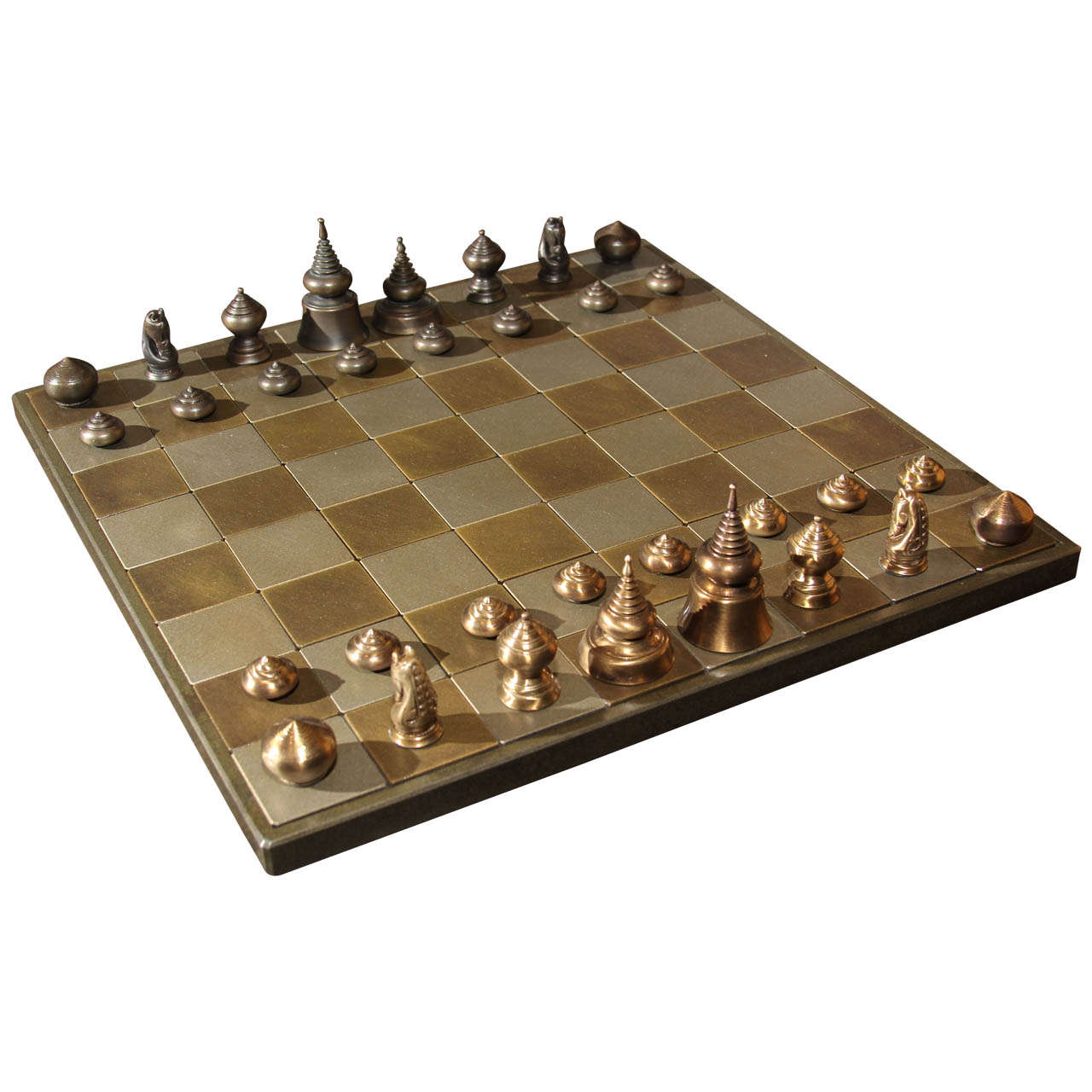 'THAI' STYLE CHESS SET by    - Masterpiece Online