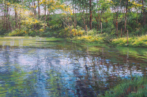 South Bank - Big Pond by  Michael Wheeler - Masterpiece Online