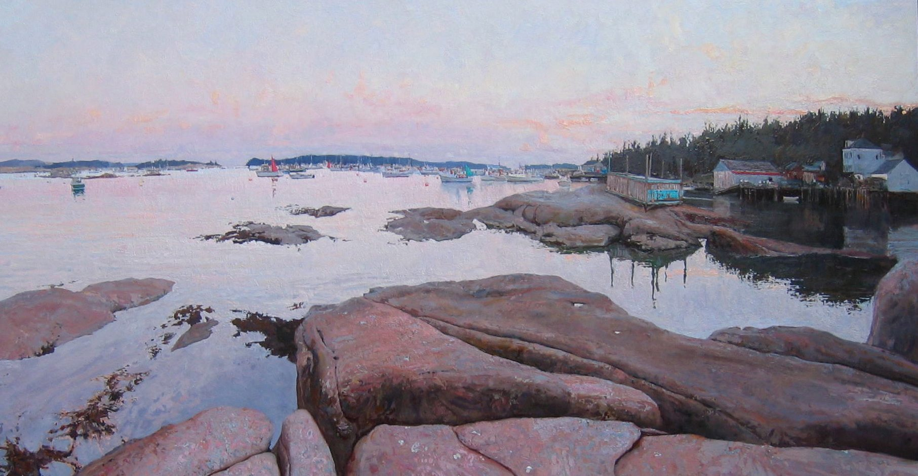 Stonington  Evening by  Daud Akhriev - Masterpiece Online