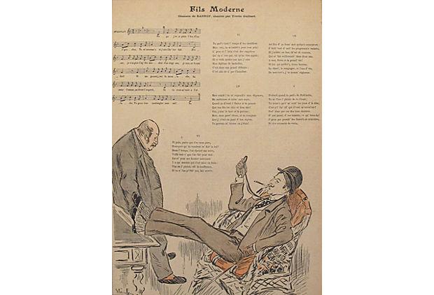 Gil Blas - Fils Moder... by   Steinlen - Masterpiece Online