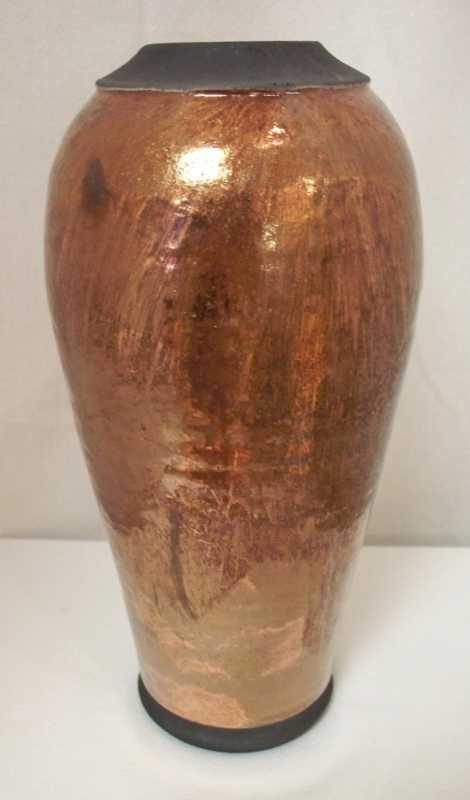 Raku Pottery by  Dan Triece - Masterpiece Online