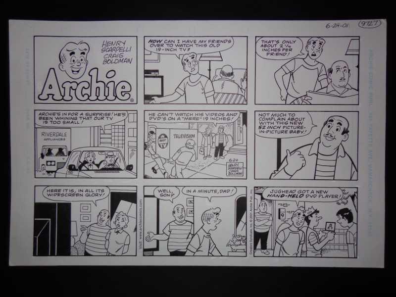 6-24-01  Archie Sunda... by  Henry Scarpelli - Masterpiece Online