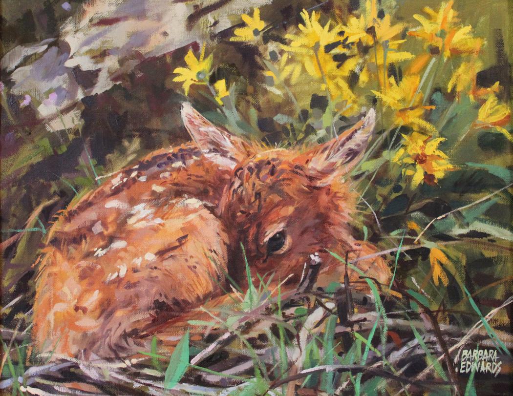 SOLD- Hidden by  Barbara Summers Edwards - Masterpiece Online