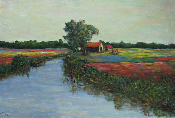 Flower Field by  Andres  Morillo - Masterpiece Online
