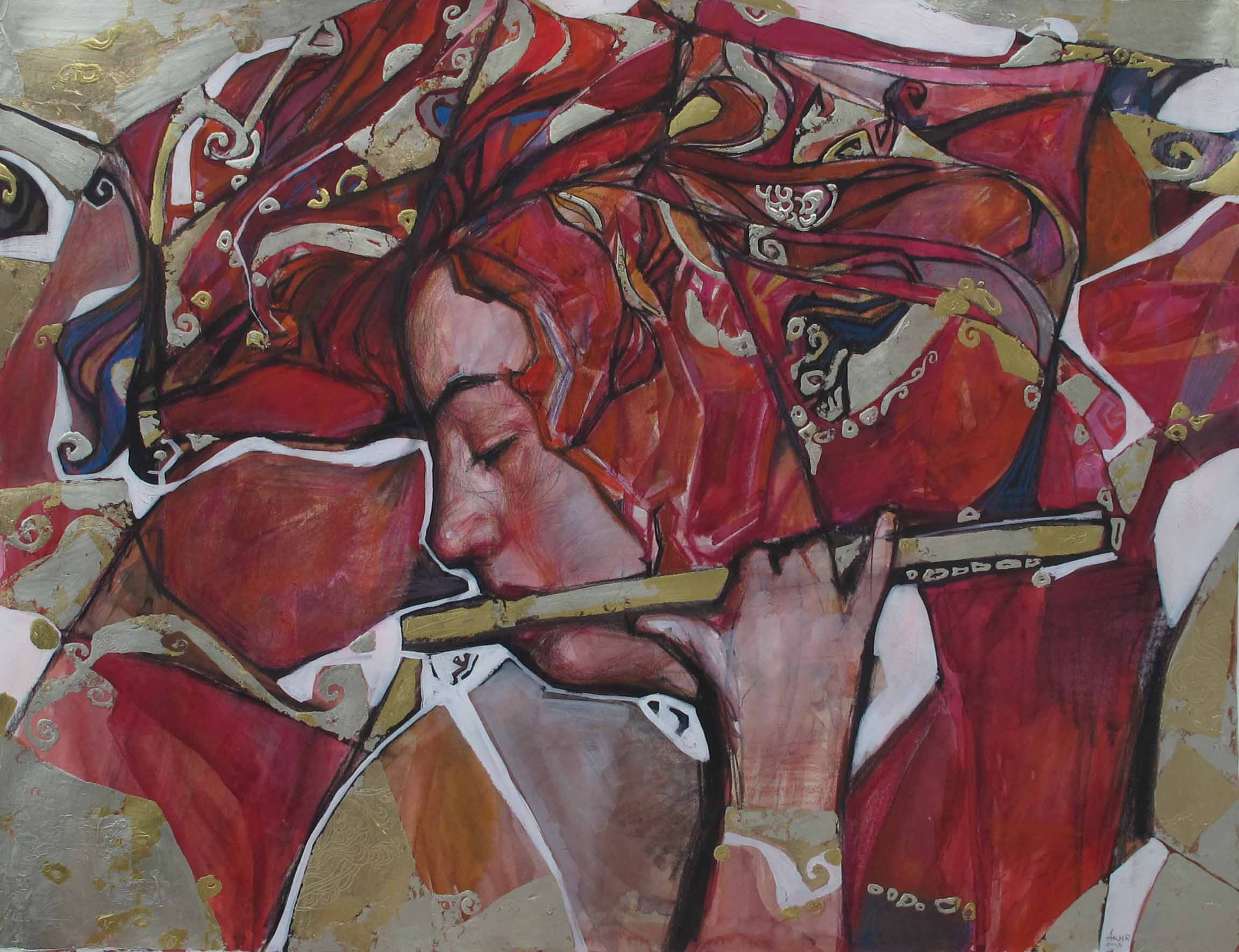 Muses Mosaic: Study IV by  Daud Akhriev - Masterpiece Online
