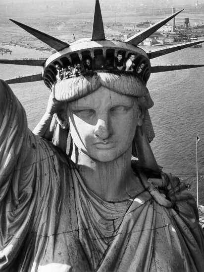 Statue of Liberty by  Margaret Bourke-White - Masterpiece Online
