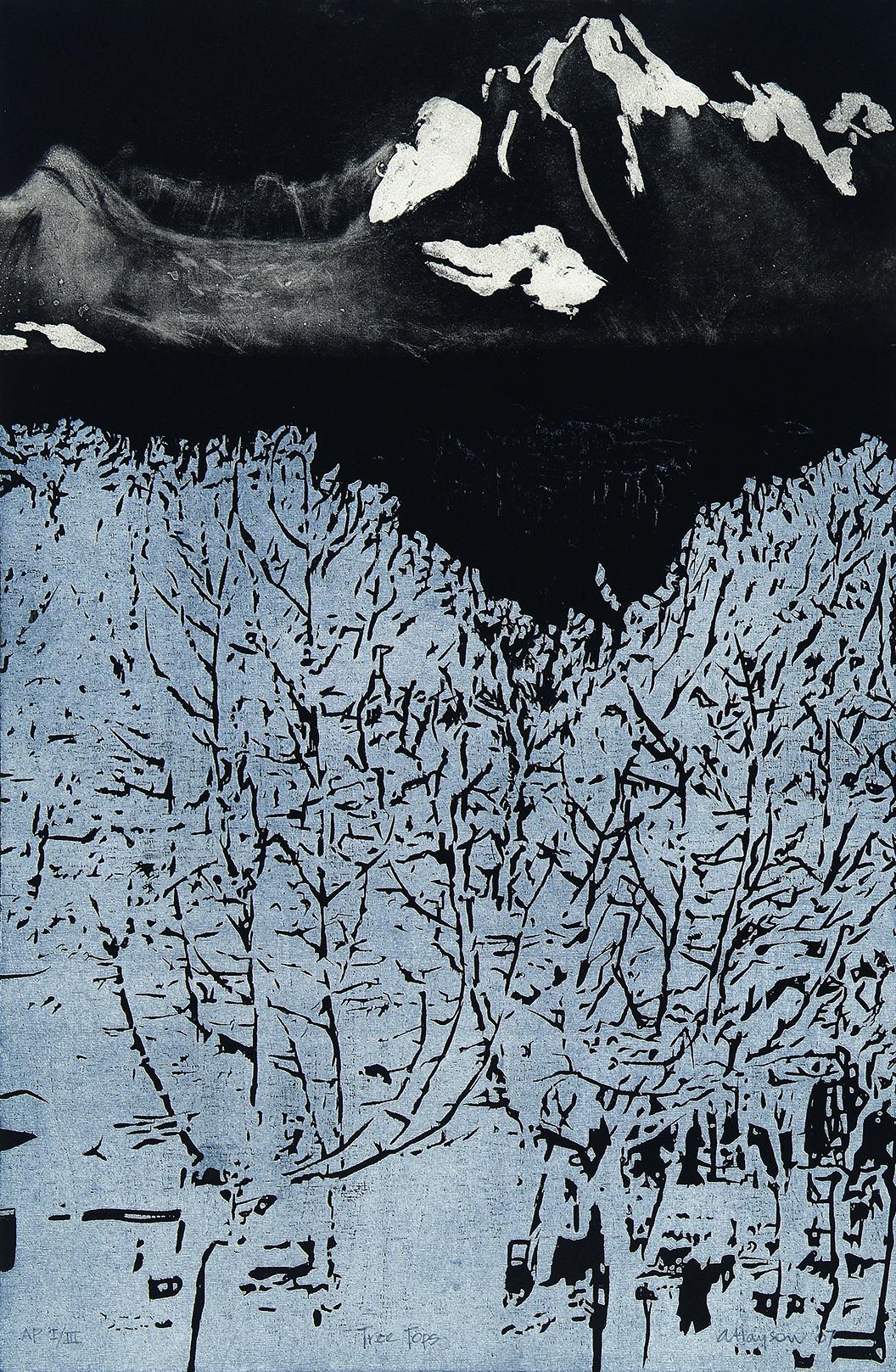 Tree Tops  by  Angela Hayson - Masterpiece Online
