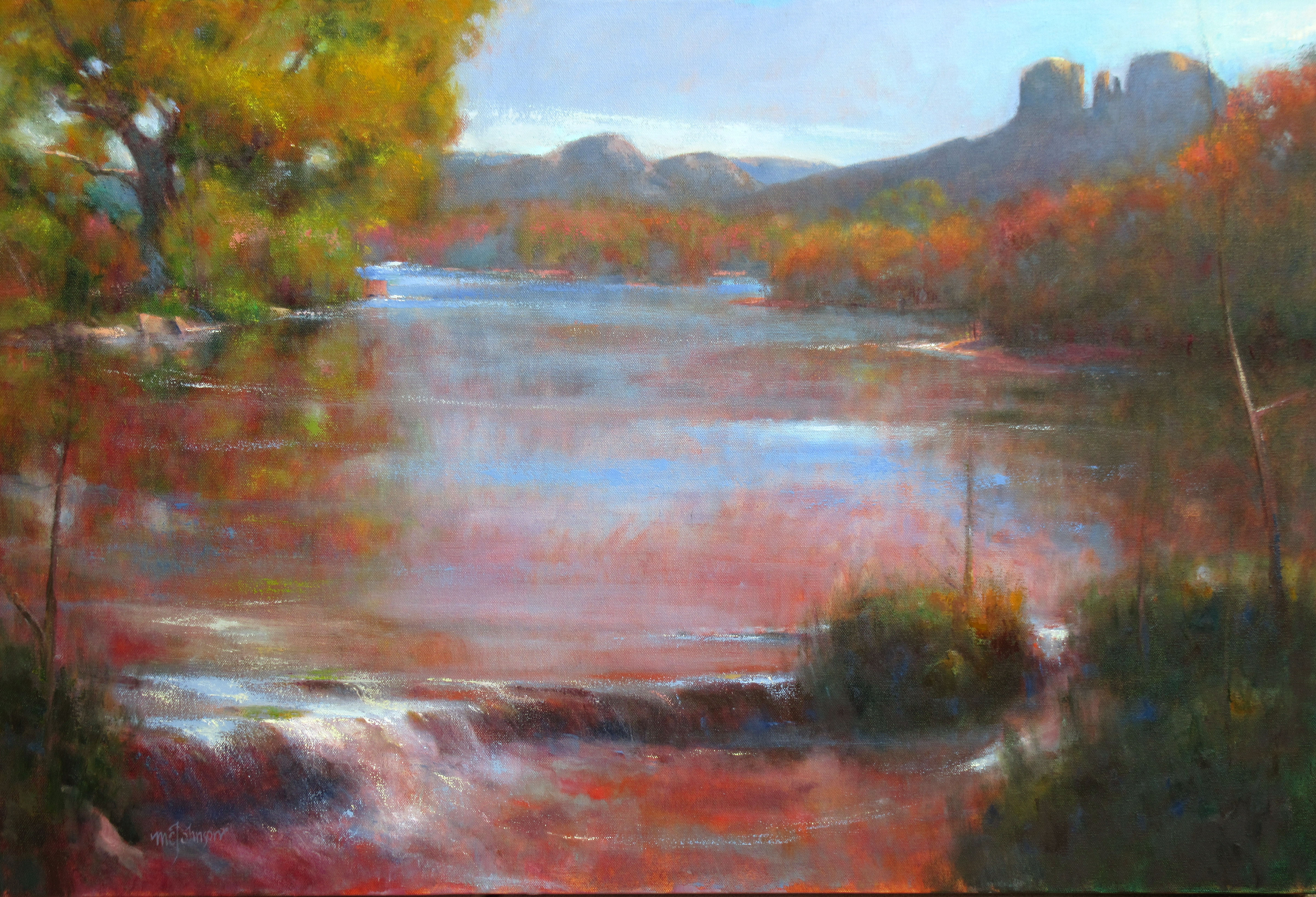 Autumn Turns by  Michael Chesley Johnson - Masterpiece Online