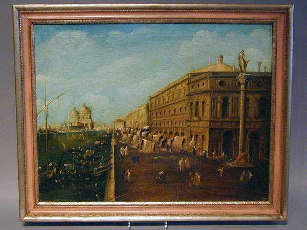 Pair of Venetian Pain... by  Italian  - Masterpiece Online
