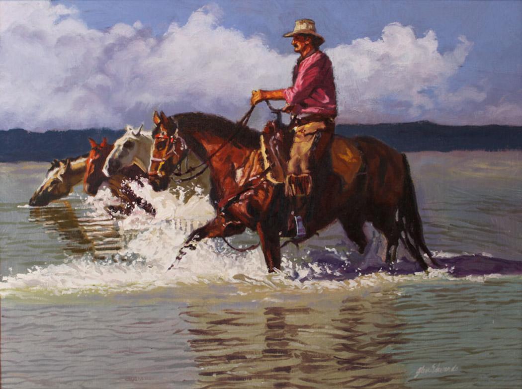 Top Hand by  Glen Edwards - Masterpiece Online