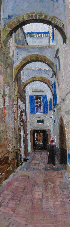 Arches of  Essaouira by  Daud Akhriev - Masterpiece Online