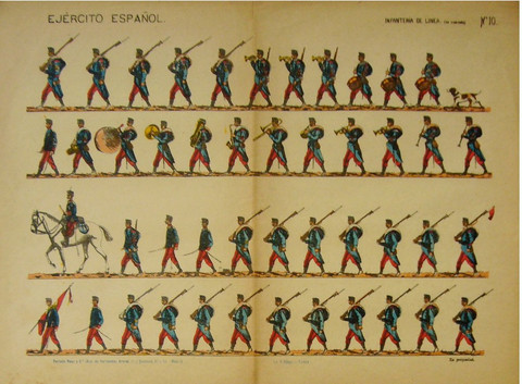 Spanish infantry post... by   Anonymous - Masterpiece Online