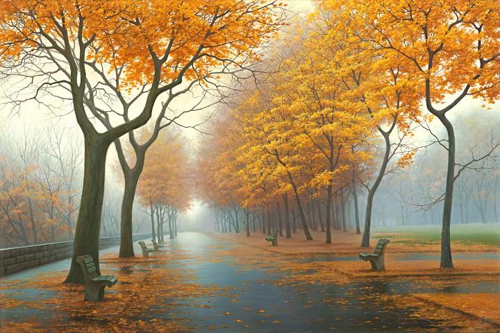 Autumn Leaves by  Alexei Butirskiy - Masterpiece Online