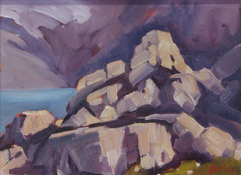 Rocks at McArthur by  Zelda Nelson - Masterpiece Online
