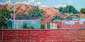 Looking over the Wall... by  Char  Michelson  - Masterpiece Online