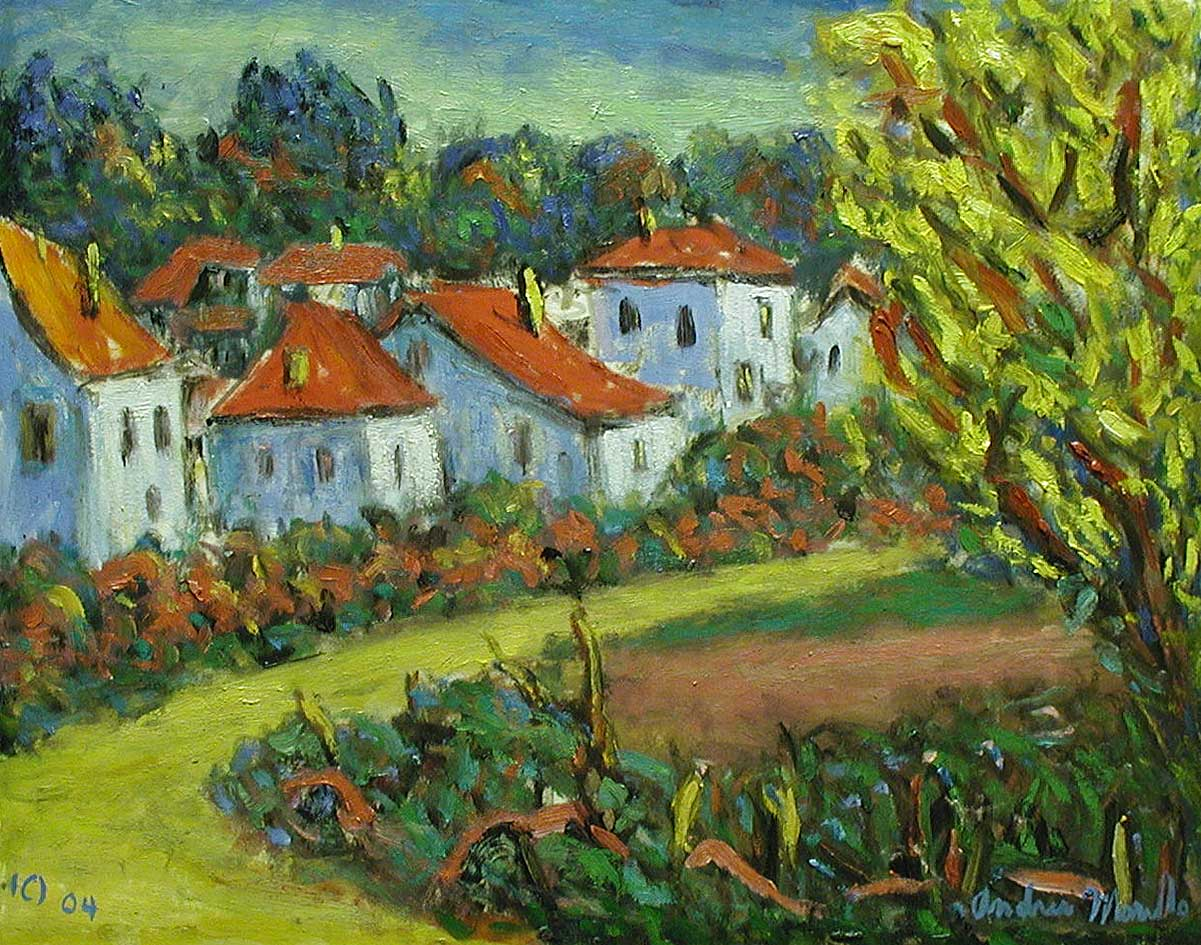 Village at Sussex by  Andres  Morillo - Masterpiece Online