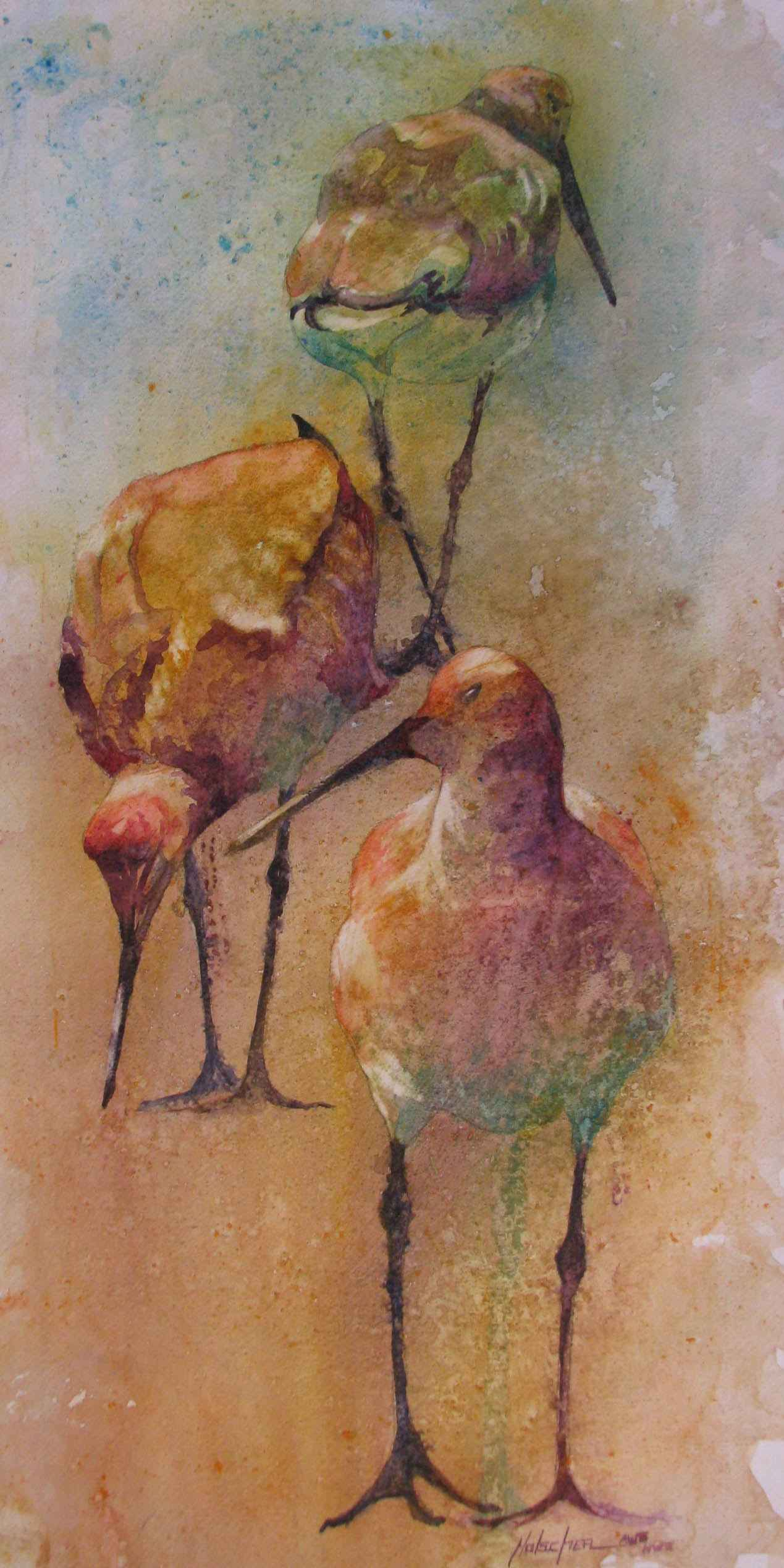 Trio of Pipers by  Pat Holscher - Masterpiece Online