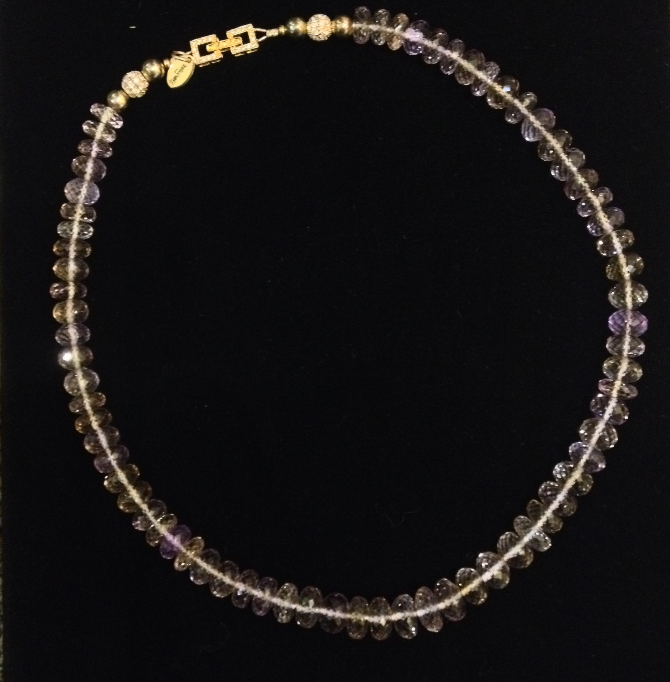Micro-Faceted Ametrine by  Mary Fisher - Masterpiece Online