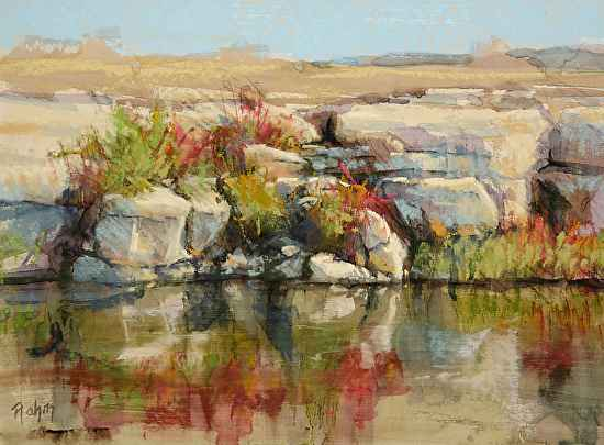 Fall River Cliff by Mr Bob Rohm - Masterpiece Online